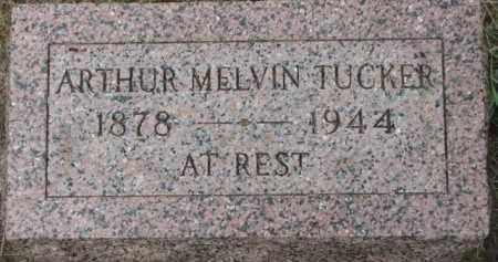 TUCKER, ARTHUR MELVIN - Dixon County, Nebraska   ARTHUR MELVIN TUCKER - Nebraska Gravestone Photos