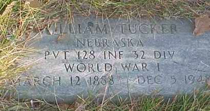 TUCKER, WILLIAM - Dixon County, Nebraska | WILLIAM TUCKER - Nebraska Gravestone Photos