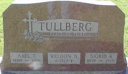 TULLBERG, AXEL T. - Dixon County, Nebraska | AXEL T. TULLBERG - Nebraska Gravestone Photos