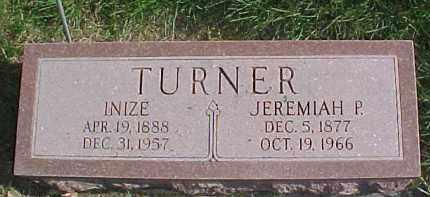 TURNER, INIZE - Dixon County, Nebraska | INIZE TURNER - Nebraska Gravestone Photos