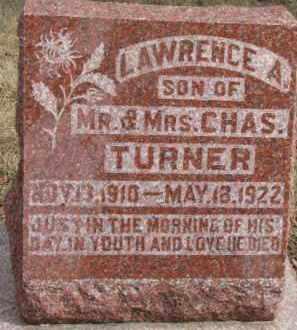 TURNER, LAWRENCE A. - Dixon County, Nebraska | LAWRENCE A. TURNER - Nebraska Gravestone Photos