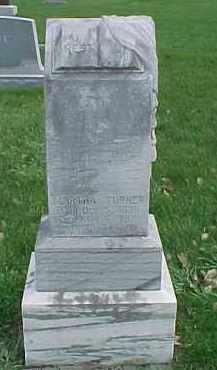 TURNER, MARTHA - Dixon County, Nebraska | MARTHA TURNER - Nebraska Gravestone Photos