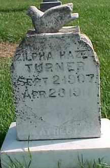 TURNER, ZILPHA HAZEL - Dixon County, Nebraska | ZILPHA HAZEL TURNER - Nebraska Gravestone Photos