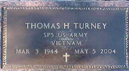 TURNEY, THOMAS H. (VIETNAM MARKER) - Dixon County, Nebraska   THOMAS H. (VIETNAM MARKER) TURNEY - Nebraska Gravestone Photos
