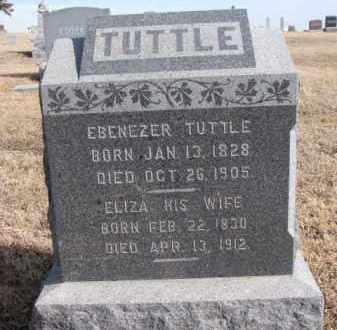 TUTTLE, EBENEZER - Dixon County, Nebraska   EBENEZER TUTTLE - Nebraska Gravestone Photos
