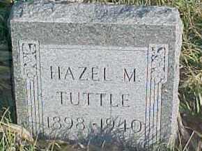 TUTTLE, HAZEL M. - Dixon County, Nebraska | HAZEL M. TUTTLE - Nebraska Gravestone Photos