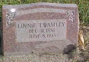 TWAMLEY, LINNIE - Dixon County, Nebraska | LINNIE TWAMLEY - Nebraska Gravestone Photos