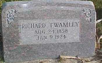 TWAMLEY, RICHARD - Dixon County, Nebraska | RICHARD TWAMLEY - Nebraska Gravestone Photos