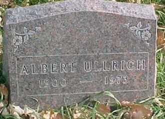 ULLRICH, ALBERT - Dixon County, Nebraska | ALBERT ULLRICH - Nebraska Gravestone Photos