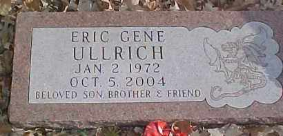 ULLRICH, ERIC GENE - Dixon County, Nebraska | ERIC GENE ULLRICH - Nebraska Gravestone Photos