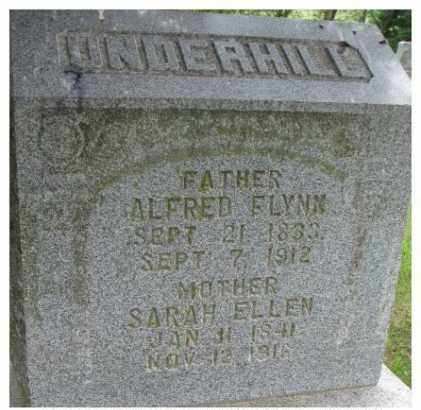 UNDERHILL, ALFRED FLYNN - Dixon County, Nebraska | ALFRED FLYNN UNDERHILL - Nebraska Gravestone Photos