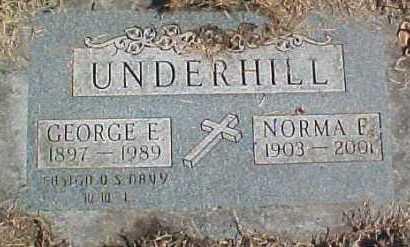 UNDERHILL, NORMA F. - Dixon County, Nebraska | NORMA F. UNDERHILL - Nebraska Gravestone Photos