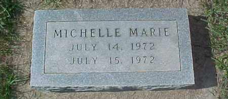 UNKNOWN, MICHELLE MARIE - Dixon County, Nebraska | MICHELLE MARIE UNKNOWN - Nebraska Gravestone Photos