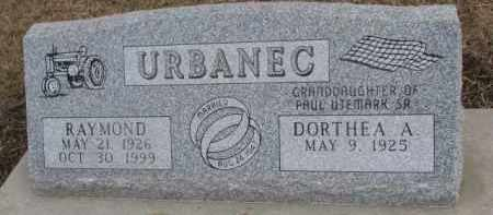 URBANEC, DORTHEA A. - Dixon County, Nebraska | DORTHEA A. URBANEC - Nebraska Gravestone Photos