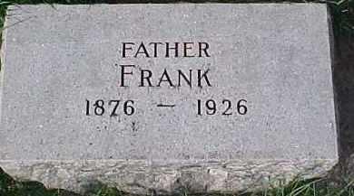 UTECHT, FRANK - Dixon County, Nebraska   FRANK UTECHT - Nebraska Gravestone Photos
