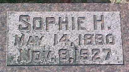 UTECHT, SOPHIE H. - Dixon County, Nebraska | SOPHIE H. UTECHT - Nebraska Gravestone Photos