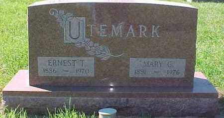 UTEMARK, MARY G. - Dixon County, Nebraska | MARY G. UTEMARK - Nebraska Gravestone Photos