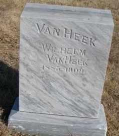 VAN HEEK, WILHELM - Dixon County, Nebraska   WILHELM VAN HEEK - Nebraska Gravestone Photos