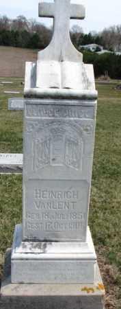 VANLENT, HEINRICH - Dixon County, Nebraska | HEINRICH VANLENT - Nebraska Gravestone Photos