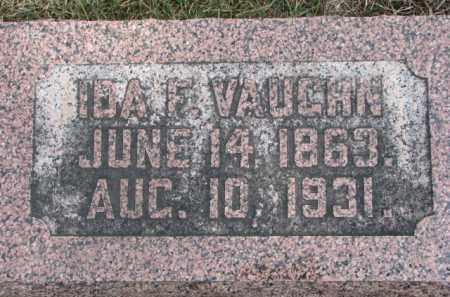 VAUGHN, IDA F. - Dixon County, Nebraska | IDA F. VAUGHN - Nebraska Gravestone Photos