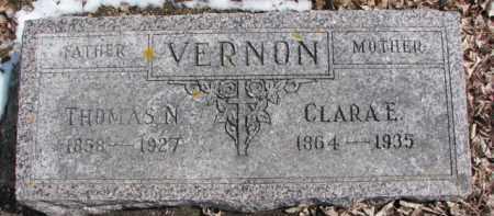VERNON, THOMAS N. - Dixon County, Nebraska | THOMAS N. VERNON - Nebraska Gravestone Photos