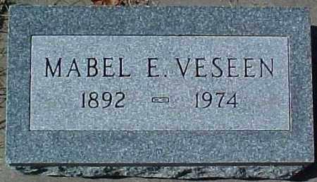 VESEEN, MABEL E. - Dixon County, Nebraska   MABEL E. VESEEN - Nebraska Gravestone Photos