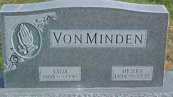 VON MINDEN, LIDA - Dixon County, Nebraska | LIDA VON MINDEN - Nebraska Gravestone Photos