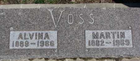 VOSS, MARTIN - Dixon County, Nebraska | MARTIN VOSS - Nebraska Gravestone Photos