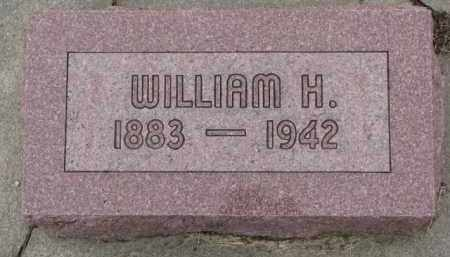 VOSS, WILLIAM H. - Dixon County, Nebraska | WILLIAM H. VOSS - Nebraska Gravestone Photos