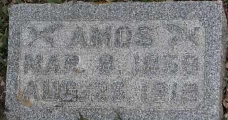 WAGNER, AMOS - Dixon County, Nebraska | AMOS WAGNER - Nebraska Gravestone Photos