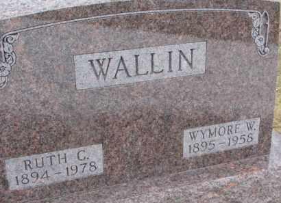 WALLIN, WYMORE W. - Dixon County, Nebraska | WYMORE W. WALLIN - Nebraska Gravestone Photos