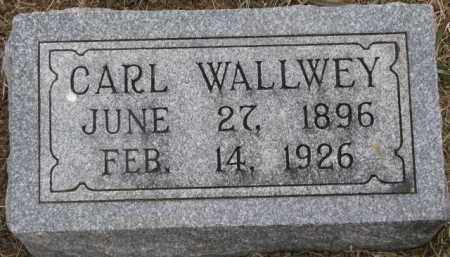 WALLWEY, CARL - Dixon County, Nebraska | CARL WALLWEY - Nebraska Gravestone Photos