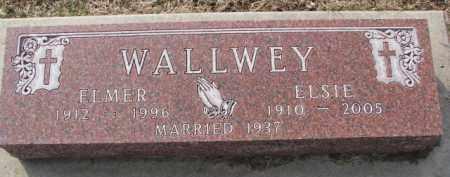 WALLWEY, ELMER - Dixon County, Nebraska   ELMER WALLWEY - Nebraska Gravestone Photos
