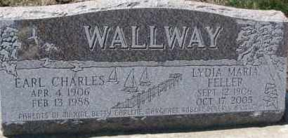 WALLWAY, EARL CHARLES - Dixon County, Nebraska | EARL CHARLES WALLWAY - Nebraska Gravestone Photos