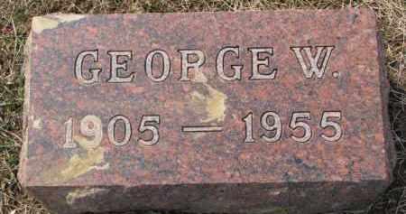 WALLWEY, GEORGE W. - Dixon County, Nebraska | GEORGE W. WALLWEY - Nebraska Gravestone Photos