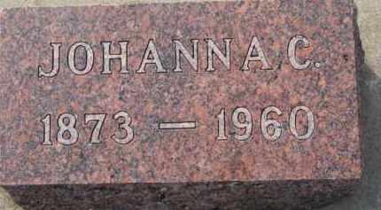 WALLWEY, JOHANNA C. - Dixon County, Nebraska | JOHANNA C. WALLWEY - Nebraska Gravestone Photos