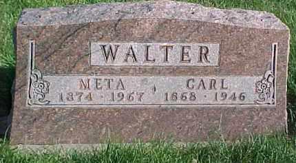 WALTER, CARL - Dixon County, Nebraska | CARL WALTER - Nebraska Gravestone Photos