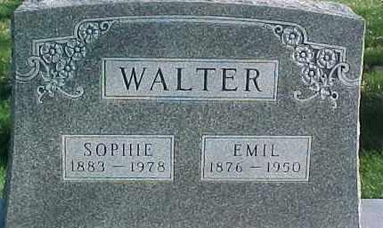 WALTER, SOPHIE - Dixon County, Nebraska | SOPHIE WALTER - Nebraska Gravestone Photos