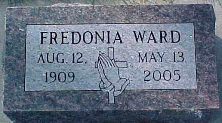WARD, FREDONIA - Dixon County, Nebraska   FREDONIA WARD - Nebraska Gravestone Photos
