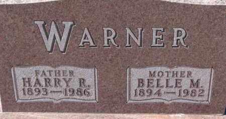 WARNER, BELLE M. - Dixon County, Nebraska   BELLE M. WARNER - Nebraska Gravestone Photos