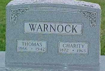 WARNOCK, CHARITY - Dixon County, Nebraska | CHARITY WARNOCK - Nebraska Gravestone Photos