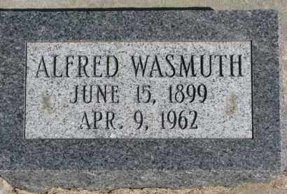 WASMUTH, ALFRED - Dixon County, Nebraska | ALFRED WASMUTH - Nebraska Gravestone Photos