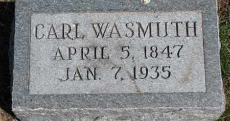 WASMUTH, CARL - Dixon County, Nebraska | CARL WASMUTH - Nebraska Gravestone Photos