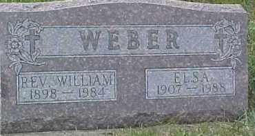 WEBER, WILLIAM (REV) - Dixon County, Nebraska | WILLIAM (REV) WEBER - Nebraska Gravestone Photos