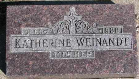 WEINANDT, KATHERINE - Dixon County, Nebraska | KATHERINE WEINANDT - Nebraska Gravestone Photos
