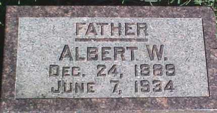 WENDEL, ALBERT W. - Dixon County, Nebraska | ALBERT W. WENDEL - Nebraska Gravestone Photos