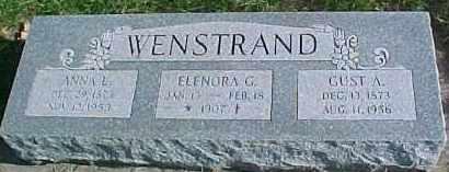 WENSTRAND, ELENORA G. - Dixon County, Nebraska | ELENORA G. WENSTRAND - Nebraska Gravestone Photos