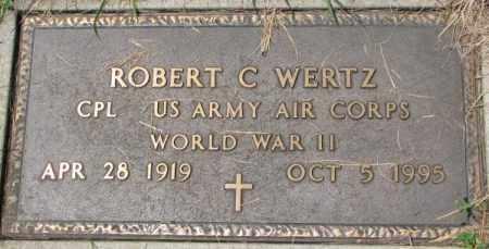 WERTZ, ROBERT C. (WW II MARKER) - Dixon County, Nebraska | ROBERT C. (WW II MARKER) WERTZ - Nebraska Gravestone Photos