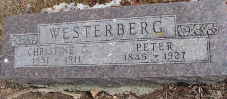 WESTERBERG, CHRISTINE C. - Dixon County, Nebraska | CHRISTINE C. WESTERBERG - Nebraska Gravestone Photos