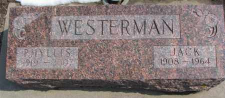 WESTERMAN, PHYLLIS - Dixon County, Nebraska | PHYLLIS WESTERMAN - Nebraska Gravestone Photos